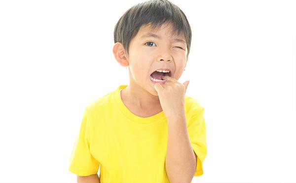 6歳になると第一大臼歯が生えてくるといわれますが、まだ生えていません。心配ないでしょうか?