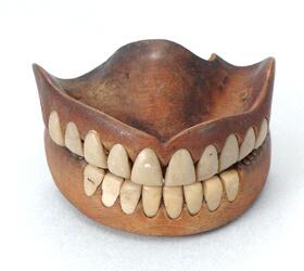 木の入れ歯